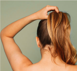 Avoid hairstyles that pull on the hair