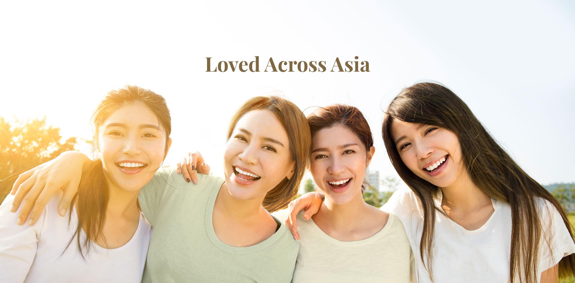 Loved across asia
